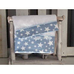 BLUE  STARS  SHEETS SET