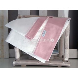 PLAIN PINK SHEETS SET