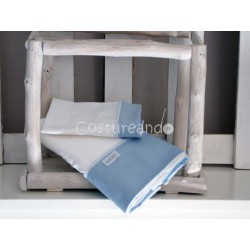 PLAIN BLUE SHEETS SET