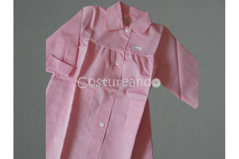 BABY SMOCK APRON WITH CUFFS